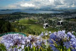 Gondola accessed fun at Skyline Rotorua.
