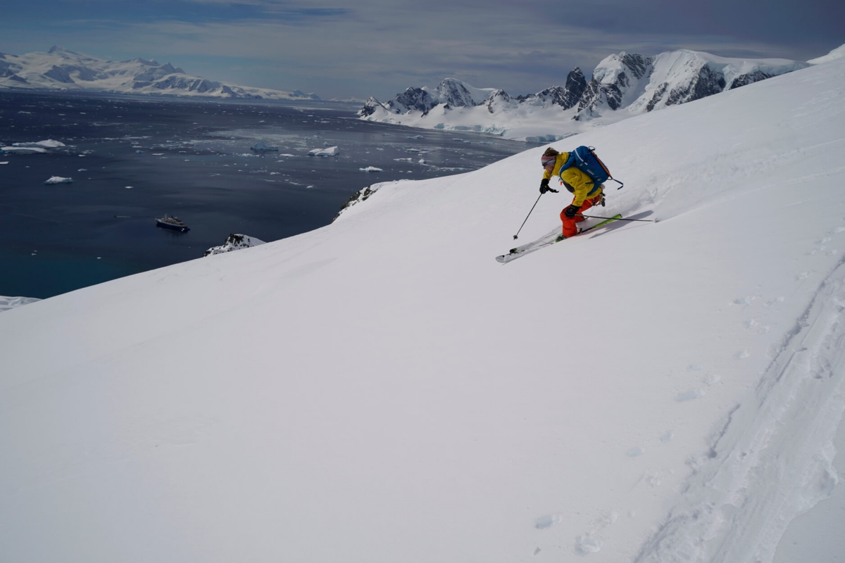 Harris Mountains Heli ski Guides in Summer Header