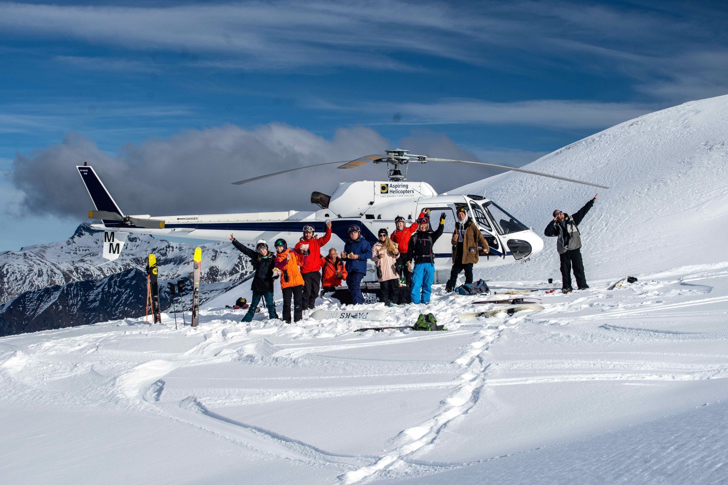 Harris Mountains Heli ski 2019 A perfect day Header