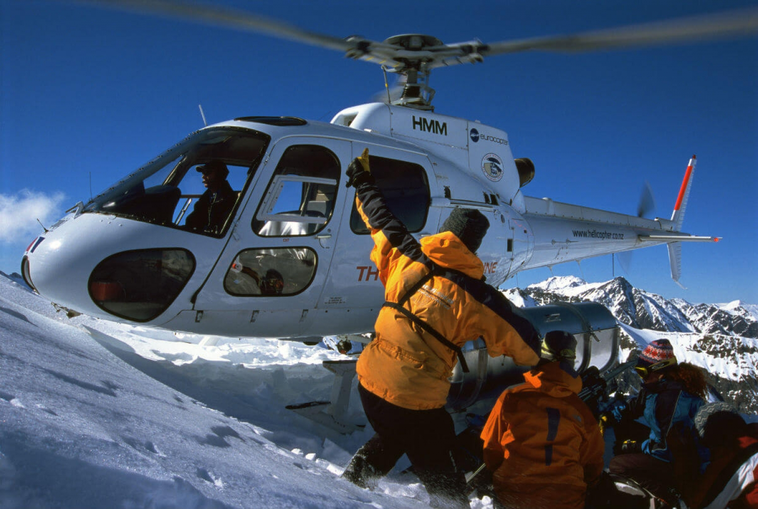 Harris Mountains Heli ski Blog How to Become a Heli skiing Guide Guide Thumbs Up