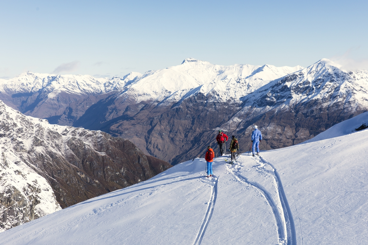 Harris Mountains Heli Ski Queenstown Wanaka Mount Cook Guides in Summer Header